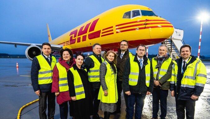 В Рижском аэропорту будет построен новый логистический комплекс DHL Latvia