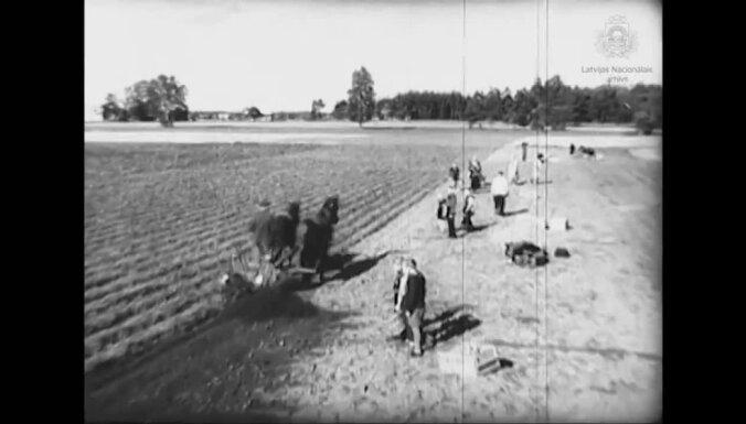 Video: Kā savulaik kolhozā tika novākta kartupeļu raža?
