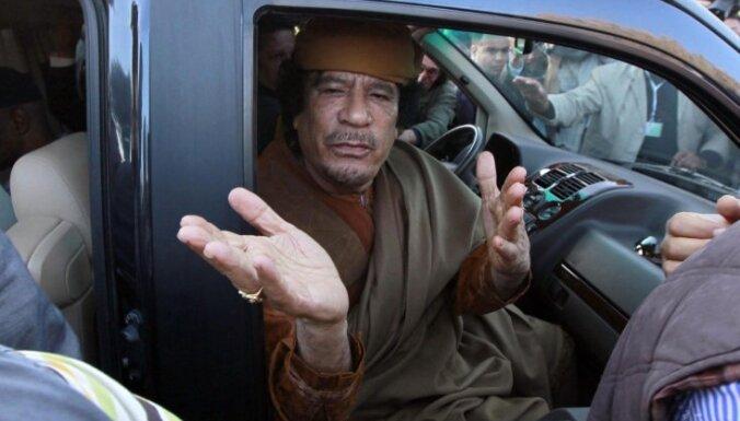 С замороженных счетов мертвого Каддафи пропали миллиарды евро