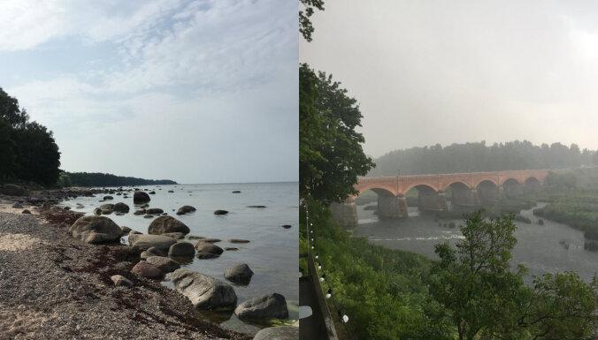 Pilis, strūklakas un Baltijas jūras piekraste – ģimenisks ceļojums pa Kurzemi