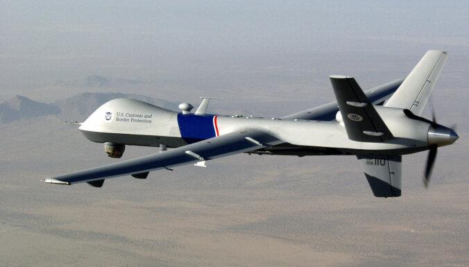 Likumsargiem ASV pieprasa skaidrot militārā drona lidojumu virs Mineapoles