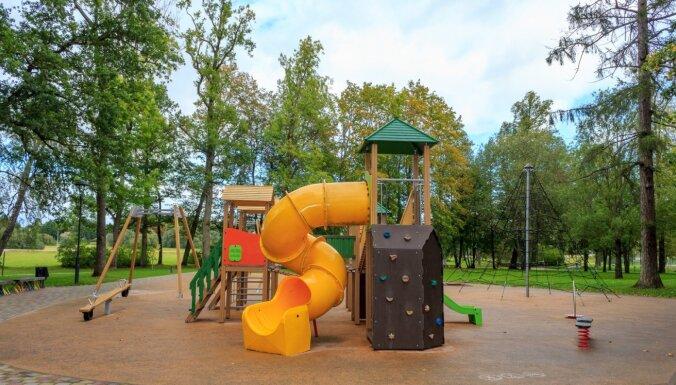 Bērnu rotaļu paradīze – Tukuma parks