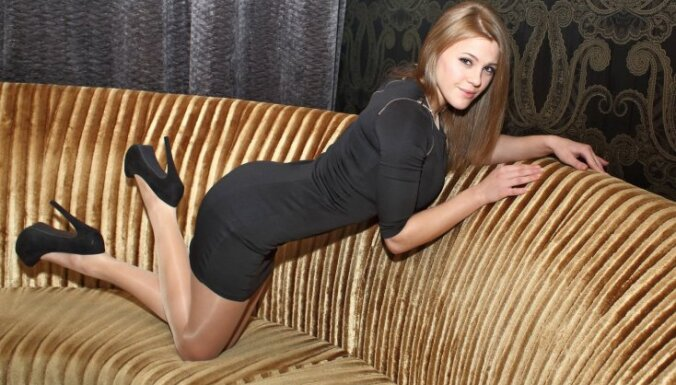 Latvijas pornozvaigzne Violeta Bailey