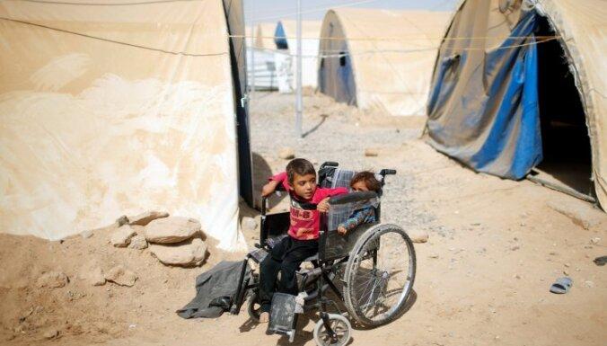 Mosulā pēc 'Daesh' sakaušanas atrasti 48 bērni no Krievijas