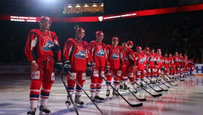 'Lokomotiv' hokejisti KHL čempionātā pārtrauc četru zaudējumu sēriju