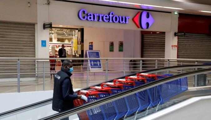 Французский гигант Carrefour покупает сеть магазинов у литовской группы