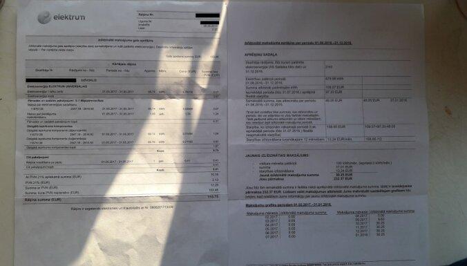 Читатель в шоке от счета Elektrum: за три месяца переплаченные 200 евро превратились в долг