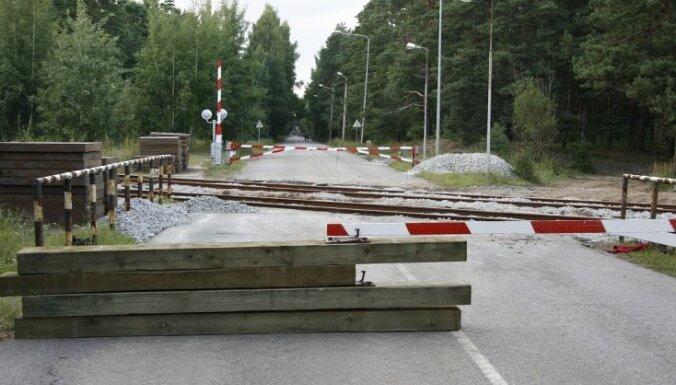 Ж/д переезд на проспекте Вецакю закроют на ремонт, на море придется ездить в объезд через Вецмилгравис
