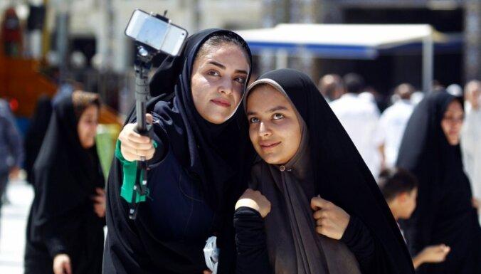 Foto: Miljoniem svētceļnieku Saūda Arābijā dodas ikgadējā hadžā