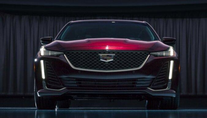 'Cadillac' parādījis BMW 5. sērijas konkurentu 'CT5'