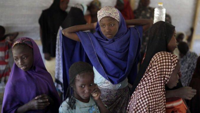 80 no 'Boko Haram' gūsta atbrīvoti bērni neatceras pat savus vārdus