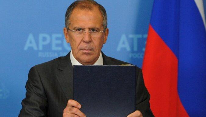 Lavrovs: Snoudens ir tiesīgs doties jebkur, kur vien viņš vēlas