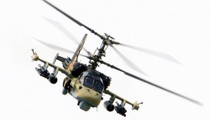 В Балтийском море потерпел крушение военный вертолет