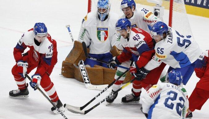 Pasaules hokeja čempionāts: 17. maija spēļu apskats