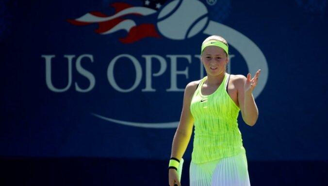Jelena Ostapenko, US Open