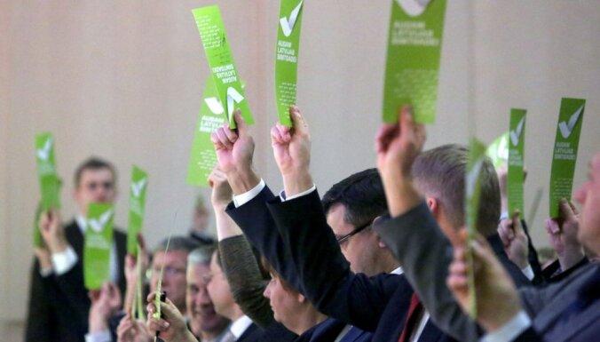 Starp kandidātiem uz 'Vienotības' valdes locekļu amatiem arī Straujuma, Piebalgs, Štokenbergs un Spolītis