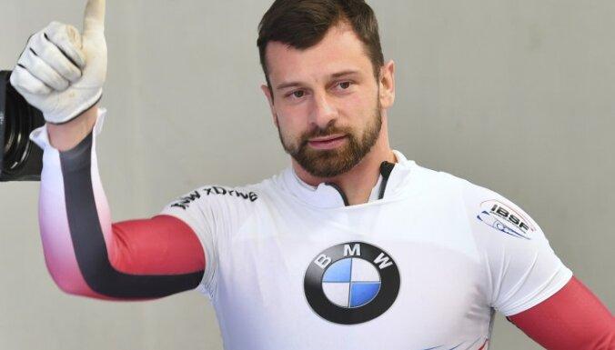 Latvia s winner Martins Dukurs