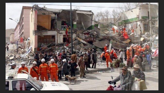 Землетрясение в Китае: погибли 2 192 человека