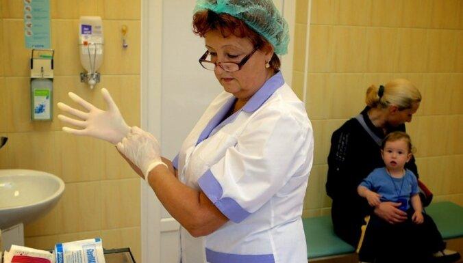 Gripas epidēmijas slieksnis iepriekšējā nedēļā pārsniegts tikai Jelgavā