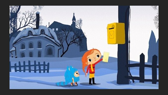 Noskaties kacekli jaunajai latviešu veidotajai animācijai filmai 'Bize un Neguļa'