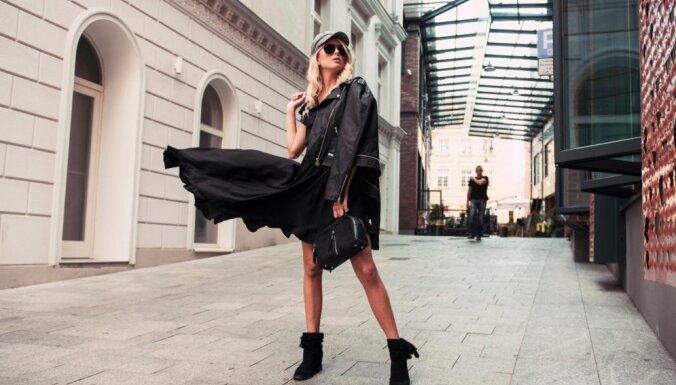 Pieci stilīgi varianti, kā valkāt melnu, klasisku kleitu