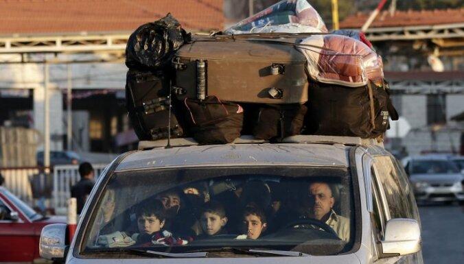 В Сирии разбомбили лагерь палестинских беженцев