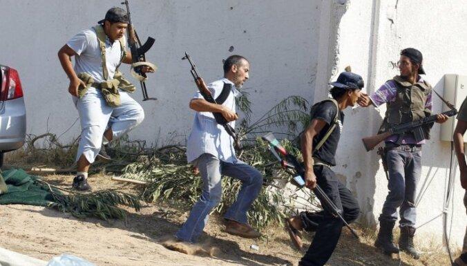 Lībijas iekšlietu ministrs noliedz Kadafi atbalstītāju uzbrukumu Banivalidai