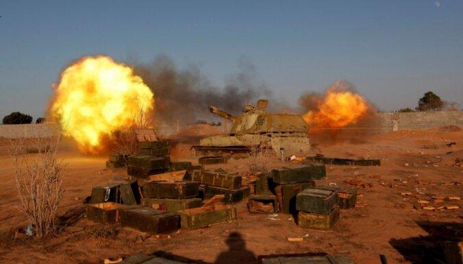 Lībijas valdības karaspēks Sirtā turpina uzbrukumu 'Daesh'