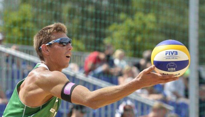 Волейболисты Плявиньш и Регжа дошли до полуфинала на этапе Кубка мира
