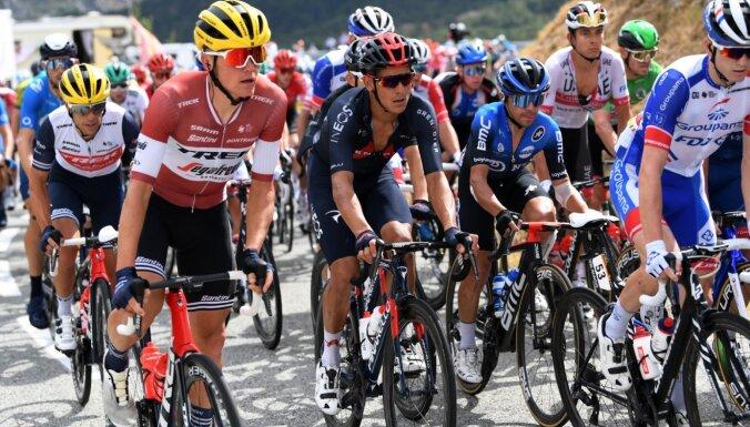Skujiņš ieņem 49. vietu 'Tour de France' otrajā posmā