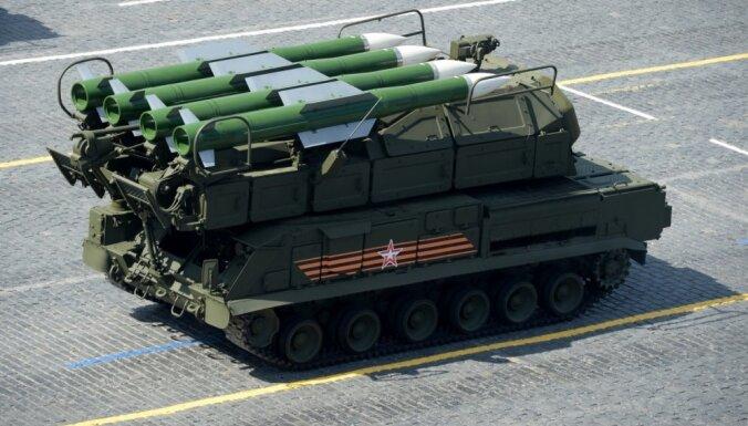 Krievijā tirgo bērnu gultiņas 'Buk' raķešu iekārtas veidolā