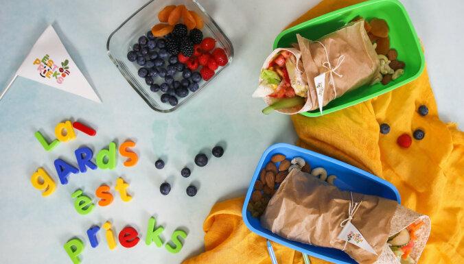 Pusdienu kastīte no mājām: trīs ieteikumi, gatavojot maltīti skolēniem