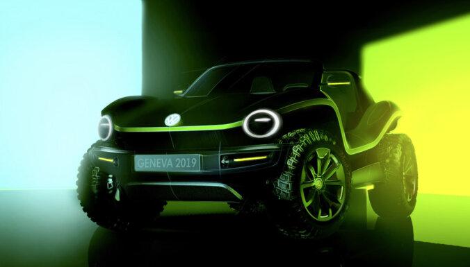 VW radījis 'Buggy' moderno versiju ar elektromotoru
