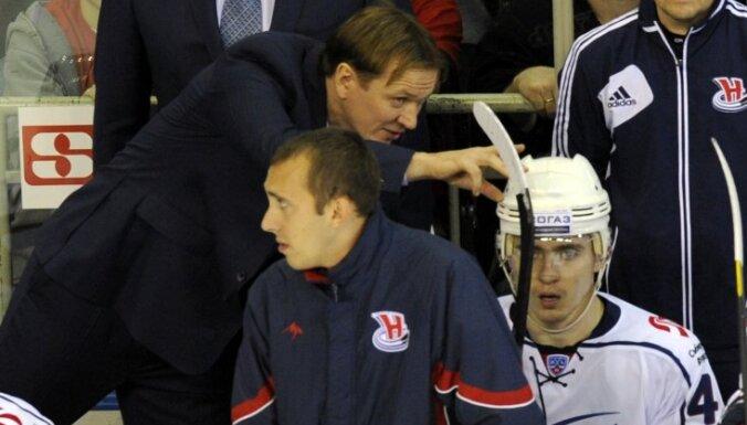 КХЛ оштрафовала латвийского тренера на тысячу долларов