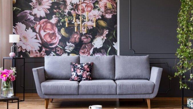 9 простых и интересных способов оформить пространство над диваном