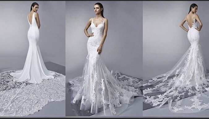 0b3cfe4e8bb7451 ФОТО. Составлен список самых стильных свадебных платьев 2019 года ...