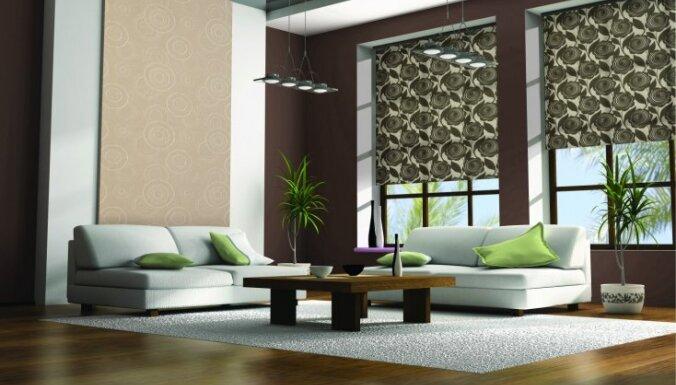 Unikāla stila žalūzijas gaumīgam un mājīgam interjeram