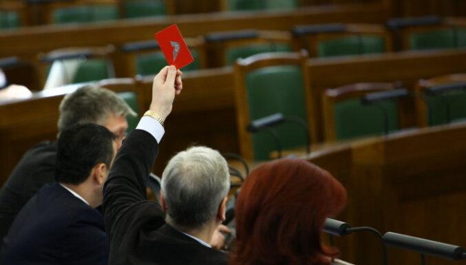 Iepriekšējā Saeimas sesijā parlamenta sēdes visbiežāk neapmeklēja Liepiņš, Nikonovs, Belēvičs un Cilevičs