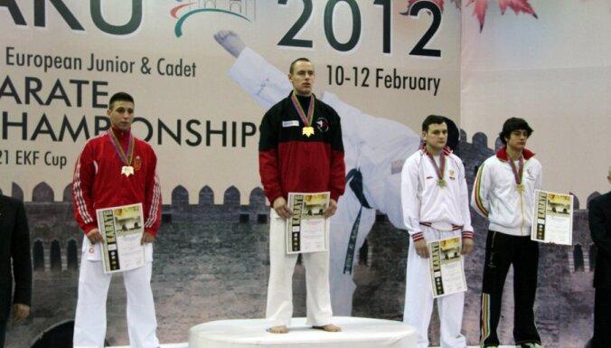 Каратист Спрингис— чемпион Европы среди юниоров
