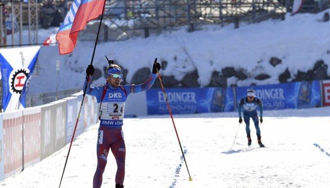 Российские биатлонисты выиграли золото чемпионата мира, Латвия — 22-я