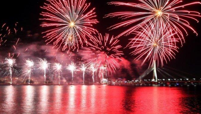 Салют и мероприятия Праздника Риги посетили 300 тысяч человек