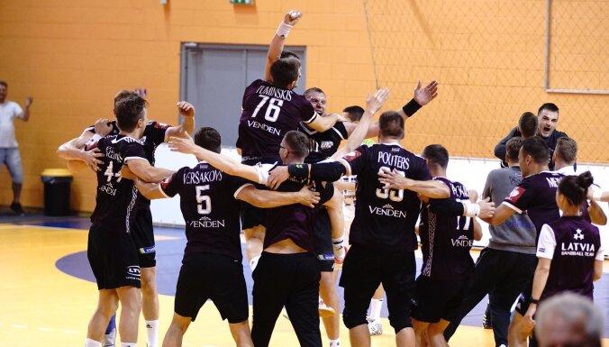 Latvijas handbola izlase pirmo reizi vēsturē kvalificējas Eiropas čempionāta finālturnīram