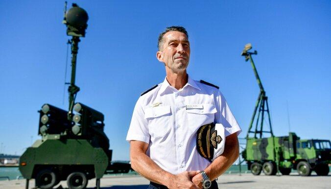 Gotlandē uzstāda jaunas pretgaisa aizsardzības sistēmas