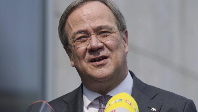 Lašets izraudzīts par Merkeles partijas kanclera amata kandidātu