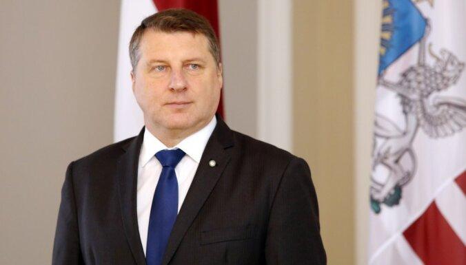 Latvijas Zaļā partija lēmusi prezidenta amatam atkārtoti virzīt Vējoni