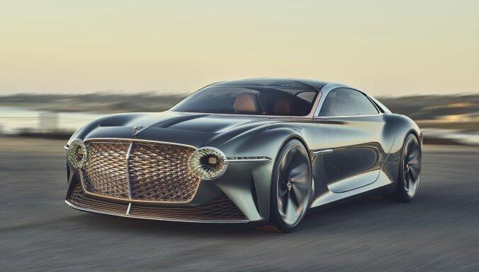 'Bentley' demonstrē grezna elektromobiļa prototipu garākiem pārbraucieniem