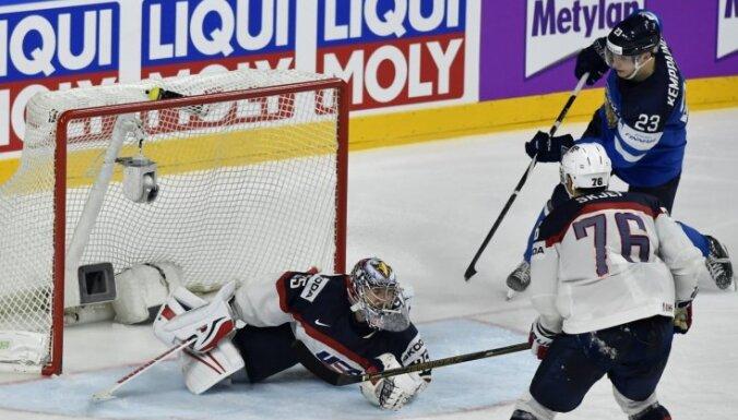 Video: Pasaules hokeja čempionāta ceturtdaļfinālu spilgtākie momenti