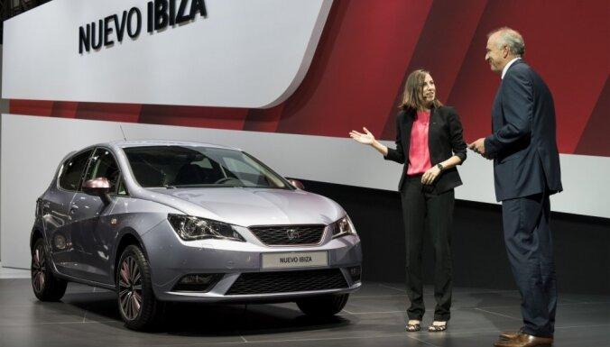 'SEAT' atjauninājis 'Ibiza' un 'Alhambra' modeli