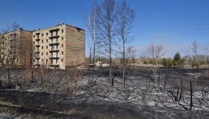 Černobiļas ugunsgrēks iznīcinājis 30% tūrisma objektu