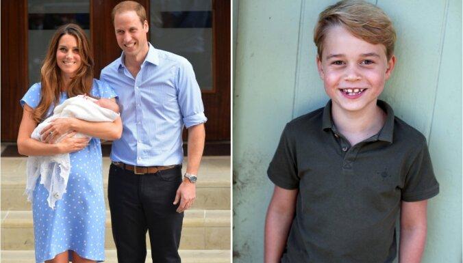 ФОТО: Наследнику британского престола принцу Джорджу исполнилось 7 лет
